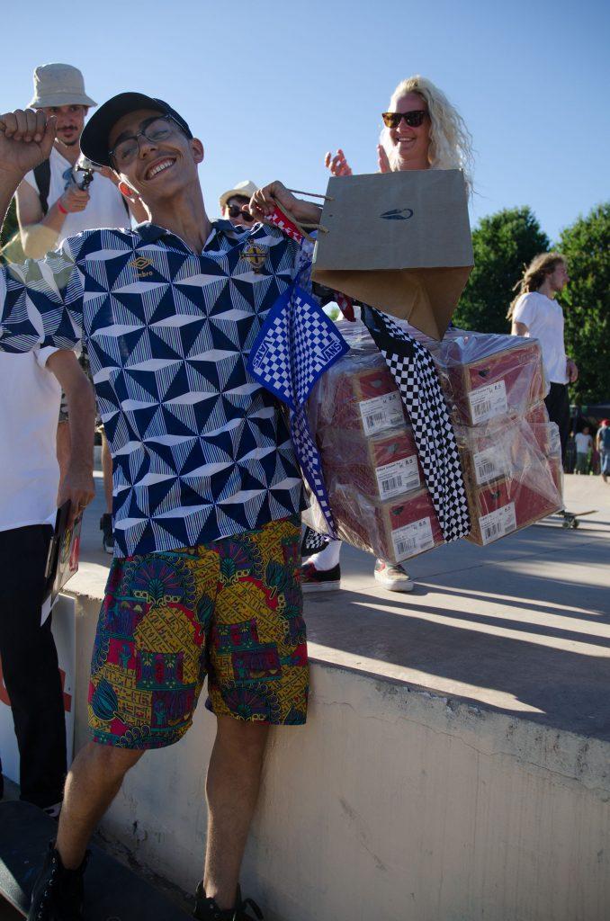 Pepe torna a casa con un bella Jam al suo attivo e 12 paio di Vans Shoes vinte con il Wild Card Video Contest!