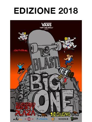 Blast The Big One il poster dell'edizione 2018